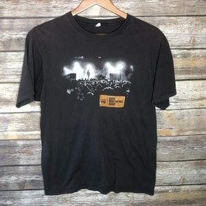 Dave Mathews band graphic tour t-shirt M 2009 top